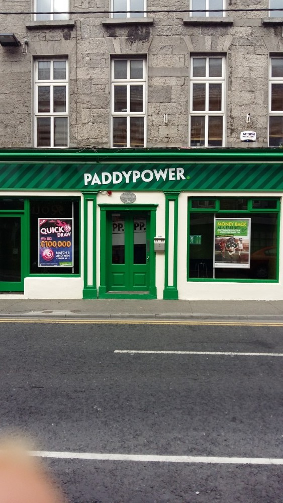 paint job for paddypower in ireland